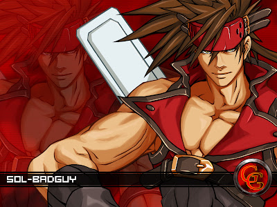 guilty gear wallpaper. Sol Badguy Wallpaper - Guilty