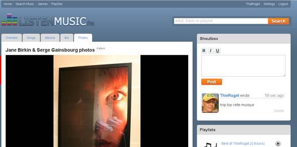 couverture de musique en ligne