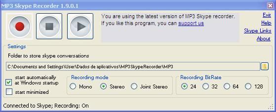 enregistrement de conversation skype gratuit