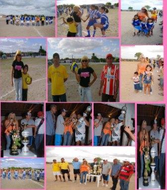 Taça Radialista Gracinha. I Campeonato feminino de futebol de São José da Tapera em 2007.