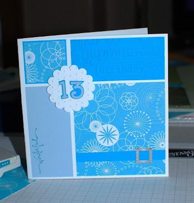 birthday cards 13. Meryl#39;s 13th Birthday card
