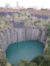 DeBeers diamond mine Kimberley South Africa
