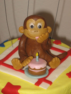 Curious George Birthday Cake on Ms  Cakes  Curious George Cake