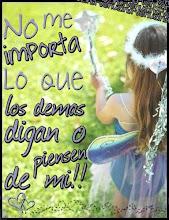 ¡NO ME IMPORTA!