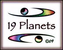 A 19 Planets Logo