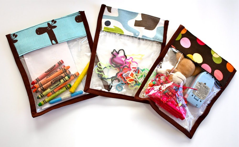Plastic Toy Storage Bags