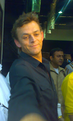 Adam Gilchrist at Wills Lifestyle India Fashion Week 2008