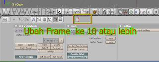 Cara Membuat Animasi blender 3d