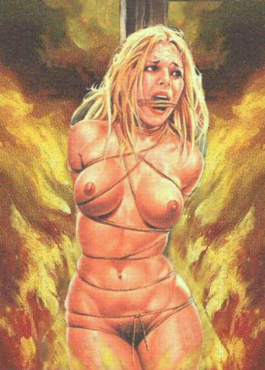 naked girl burn at the stake movie