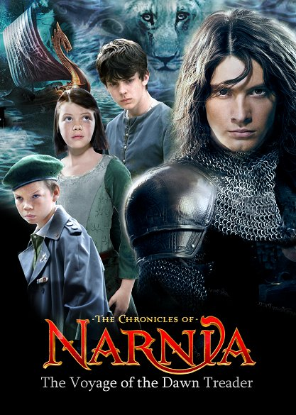 The Chronicles of Narnia: The Voyage of the Dawn Treader. Lucy and Edmund