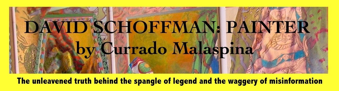 SCHOFFMAN: PAINTER            by Currado Malaspina