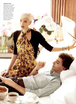 Agyness Deyn Vouge February 09 Cover