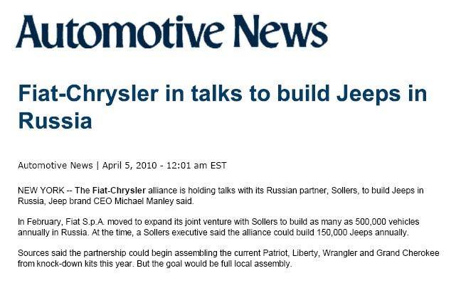 Manley jeep conferma le jeep verranno costruite anche for Piani di casa che costano 150 000 per costruire