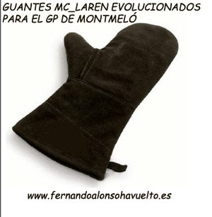 guantes f1 mclaren