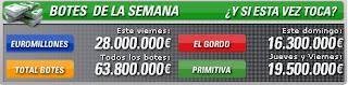 botes loterias