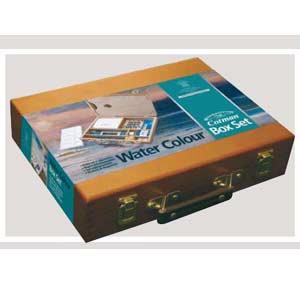 caja madera acuarelas