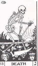 Interpretación de la carta de la muerte en el tarot