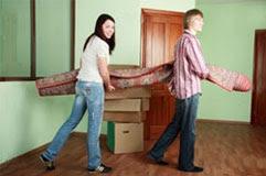 Квартирный переезд и перевозка мебели в Одинцово