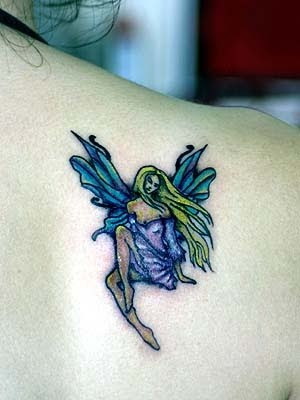 cute small angel tattoo designs. Label: Cute Small Tattoo