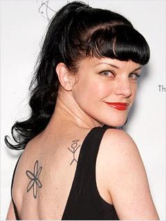 Pauley Perrette Tattoos