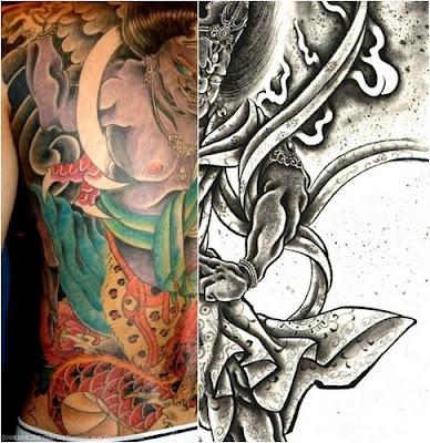 blog pictures bushido tattoo. Black Bedroom Furniture Sets. Home Design Ideas