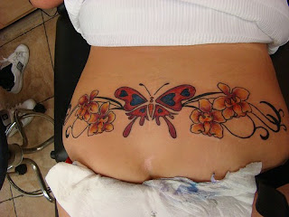 orchid tattoo designs