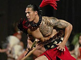 maori tattoos for men on chest and half sleeves
