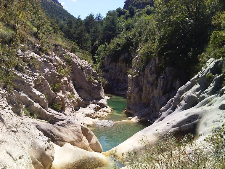 Hoz de Fago. Pirineo de Huesca.