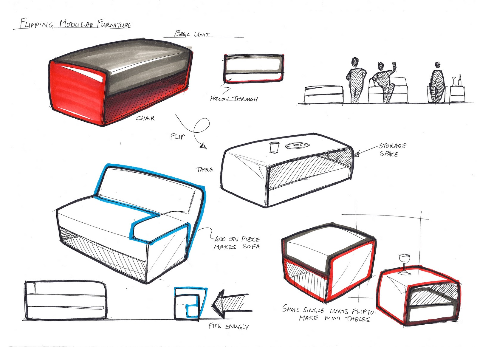 Modern furniture sketches chair sketches -  Modern Furniture Sketches