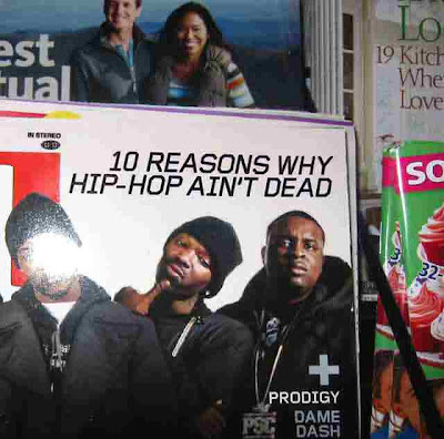 10 Reasons Hip Hop Aint Dead - from a Vons Magazine Rack