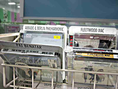 Claudio Abbado and Fleetwood Mac together again in a Best Buy CD rack