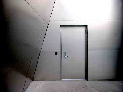 A door in Disney Hall