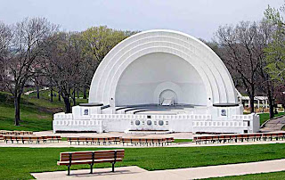 Grandview Park Bandshell, Sioux City Iowa