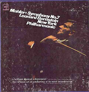 Columbia M2L 339 Bernstein conducts Mahler 7 New York Phil