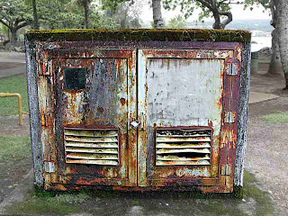 A Rusty Shed in Hilo (c) David Ocker