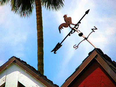 Crooked Weather Vane Pasadena CA (c) David Ocker