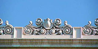 Old Pasadena CA - detail of building facade (c) David Ocker