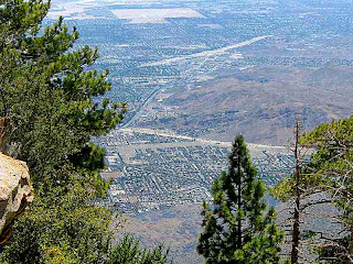 Looking down from Mount San Jacinto State Park Palm Springs (c) David Ocker
