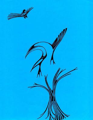 Blue Doodle 1 (c) David Ocker