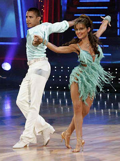 Barack Obama and Sarah Palin dancing together With The Stars