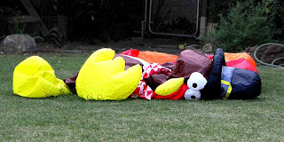 Inflatable Turkey Deflated