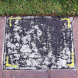 Abstract Sidewalk Panel