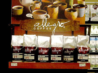 Musical Signs Allegro Coffee