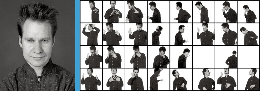Peter Sellars in 1991 photograph by Pierre Radisic