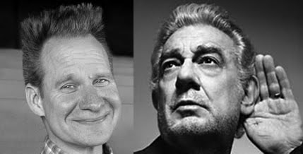 Peter Sellars and Placido Domingo