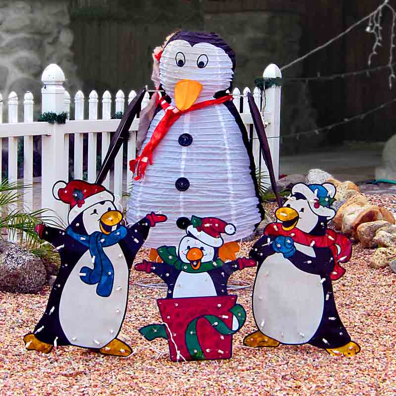 Christmas Penguin - a quartet