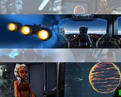 The Goblin Trove Wallpaper Star Wars Clone Wars Collage 010 Jedi Crash