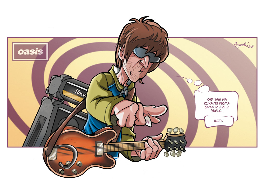 Oasis Band Logo Noel gallagher of oasis during Oasis Band Album Cover