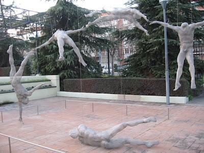 museum sculptures leganes manolo gonzalez