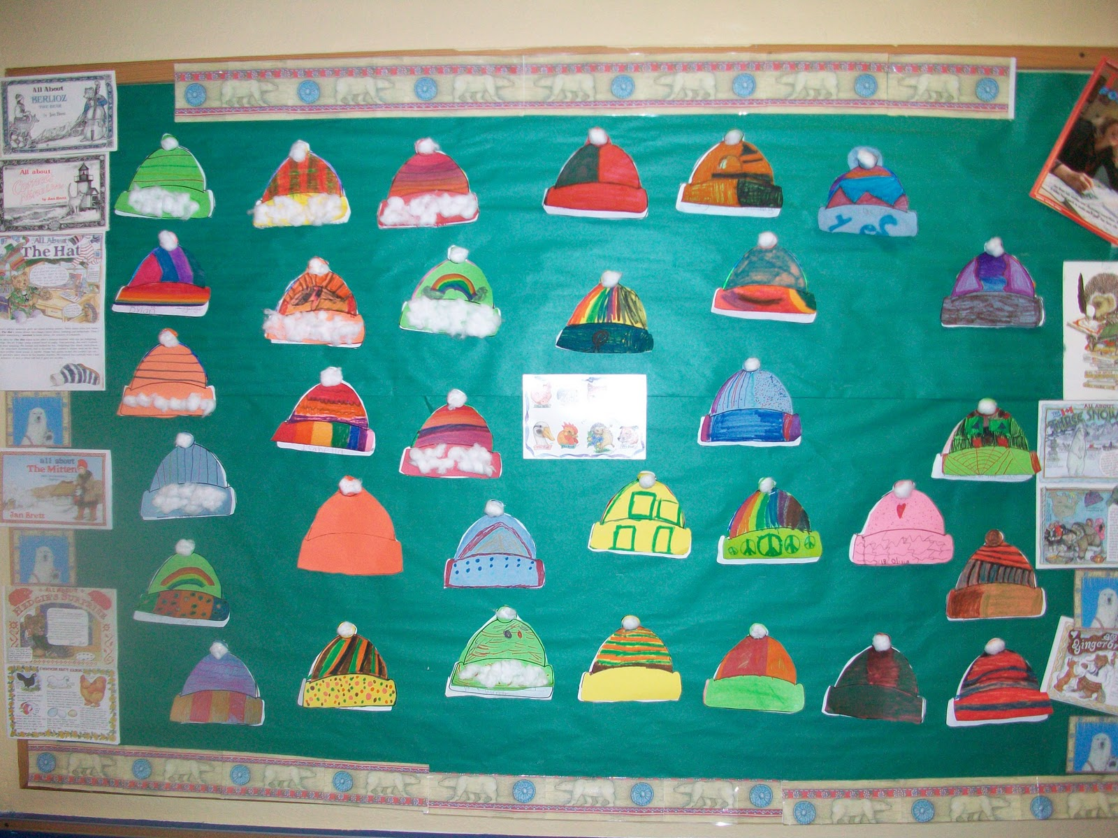Displaying 20> Images For - The Hat By Jan Brett Worksheets...